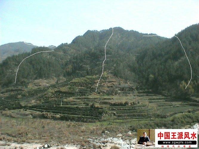 安庆风水宝地-看风水大师王君植图解网形山